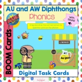 AU and AW Diphthongs With Sound Boom Cards!