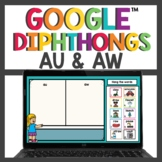 Diphthongs au and aw for Google Slides™ Digital and Print
