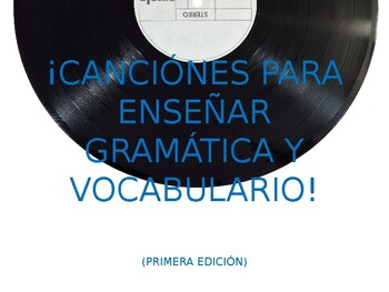 AUDIO for Basic Spanish Vocab and Grammar Songs