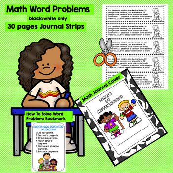 AUGUST - 2ND GRADE MATH WORD PROBLEMS IN SPANISH - CCSS 2.OA.1