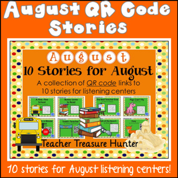 AUGUST QR Code stories - 10 stories for the month of Augus
