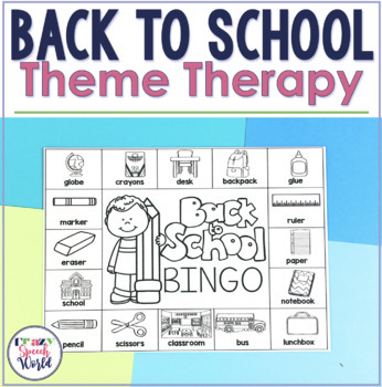 AUGUST Theme Therapy for Speech and Language Therapy