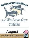 AUGUST is Louisiana/U.S. Catfish Month
