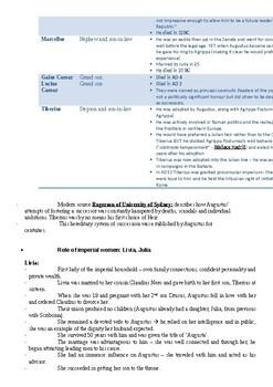 AUGUSTUS- HSC summary