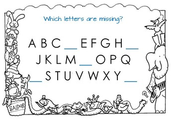 AUSLAN - Alphabet. Which letters are missing?