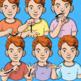 Auslan Clip Art (Set 1) - Common Verbs - Commercial License