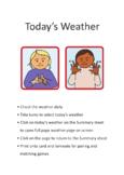 AUSLAN WEATHER SIGNS  (IN FLASHCARD FORMAT)  (Australian Sign Language)