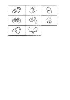 AUSLAN - alphabet match (A-H)
