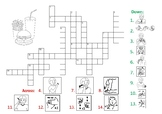 AUSLAN - foods crossword puzzle