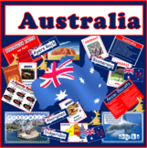 AUSTRALIA -CULTURE AND DIVERSITY RESOURCES -DISPLAY GEOGRAPHY HISTORY