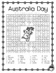 AUSTRALIA DAY 20 word WORD SEARCH