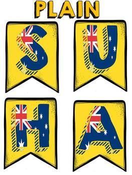 AUSTRALIA DAY BANNER FREEBIE