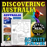 AUSTRALIA: Discovering Australia Activity Pack