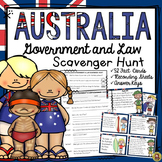 AUSTRALIA: GOVERNMENT AND LAW: SCAVENGER HUNT