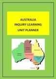 AUSTRALIA - INQUIRY LEARNING UNIT PLANNER