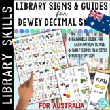 AUSTRALIA VERSION Dewey Decimal Call Number Guide for the School Library