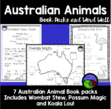 AUSTRALIAN ANIMALS - book pack bundle - WOMBAT STEW koala lou POSSUM MAGIC
