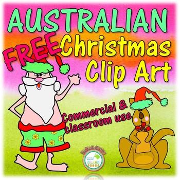 FREE AUSTRALIAN Christmas Clip Art