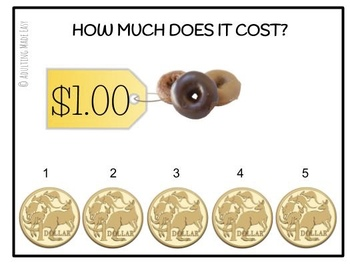 AUSTRALIAN How Much Does It Cost? {up to $5} Task Cards