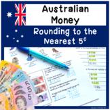 Worksheets on Australian Money Rounding