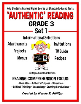AUTHENTIC READING - GRADE 3 SET 1 (Of 8)