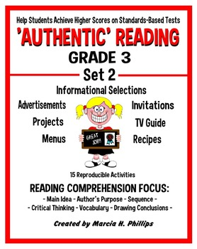 AUTHENTIC READING - GRADE 3 SET 2 (Of 8)
