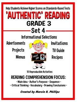 AUTHENTIC READING - GRADE 3 SET 4 (Of 8)