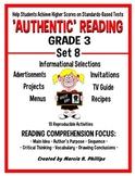 AUTHENTIC READING - GRADE 3 SET 8 (Of 8)
