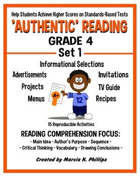 AUTHENTIC READING - GRADE 4 SET 1 (Of 8)