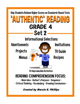 AUTHENTIC READING - GRADE 4 SET 2 (Of 8)