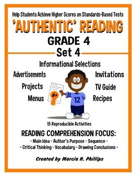 AUTHENTIC READING - GRADE 4 SET 4 (Of 8)
