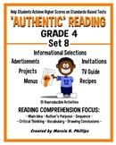 AUTHENTIC READING - GRADE 4 SET 8 (Of 8)