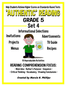 AUTHENTIC READING - GRADE 5 SET 4 (Of 8)