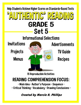 AUTHENTIC READING - GRADE 5 SET 5 (Of 8)