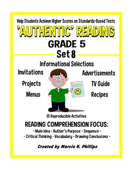 AUTHENTIC READING - GRADE 5 SET 8 (Of 8)