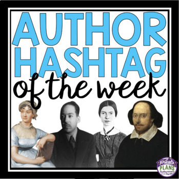 AUTHOR QUOTE HASHTAG POSTERS & ASSIGNMENT