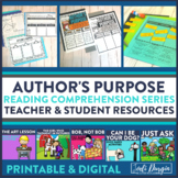 AUTHOR'S PURPOSE read aloud lessons and activities