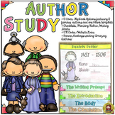 AUTHOR STUDY/RESEARCH {BIOGRAPHY FLIPBOOK ORGANIZER}