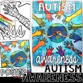 AUTISM AWARENESS COLLABORATIVE POSTER FOR APRIL AND SPRING ACTIVITIES