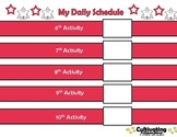 AUTISM AWARENESS Daily Schedule, PECS Board, Token Board,