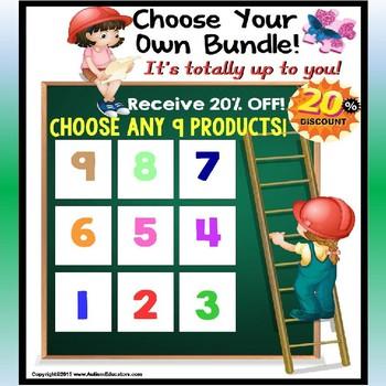 AUTISM EDUCATORS Custom Bundle Order For KIMBERLY T.