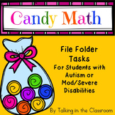 AUTISM FILE FOLDER TASKS FOR BEGINNING MATH SKILLS