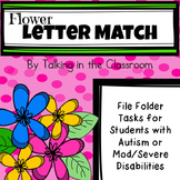 AUTISM FILE FOLDER TASKS/WORK JOBS FOR LETTER MATCHING