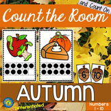 AUTUMN / FALL Math - Count the Room – Ten Frames and Numbe