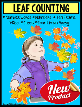 AUTUMN LEAVES – Count Up To 20 with Data and IEP Goals (Autism)