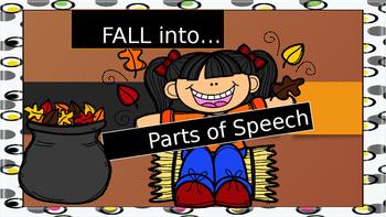 AUTUMN THEMED PARTS OF SPEECH