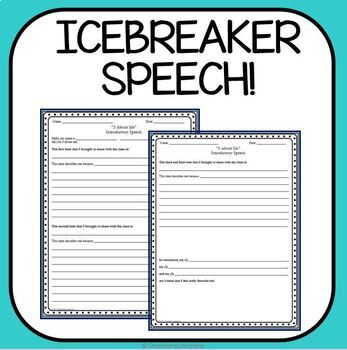 AVID: 3 About Me Speech- Introduction/Icebreaker Speech
