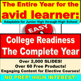 The Entire Year for avid learners: College Readiness