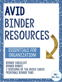 AVID Binder Resources