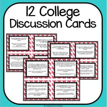 AVID College Icebreaker Task Cards